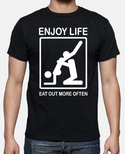 Camisetas Enjoy life.