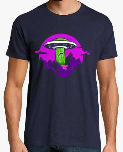 Tee-shirt enlèvement par des extraterrestres