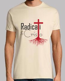 enracinée dans le christ t-shirt beige
