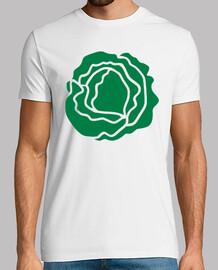 ensalada de lechuga verde