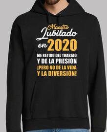 enseignant retraité en 2020