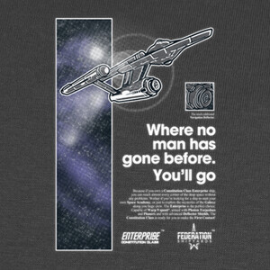 Camisetas Enterprise NCC-1701