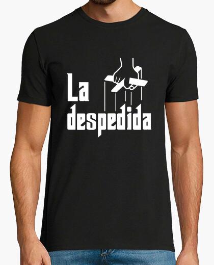 Tee-shirt enterrement de célibataire de parrain