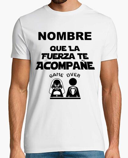 Tee-shirt Enterrement de vie de garçon nom personnalisable
