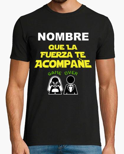 Tee-shirt Enterrement de vie de garçon nom personnalisé