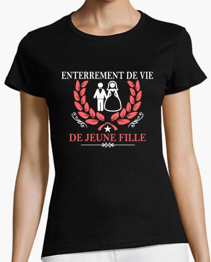 Tee-shirt enterrement de vie de jeune fille