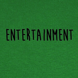 Camisetas Entertainment black