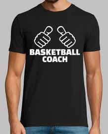 entrenador de baloncesto