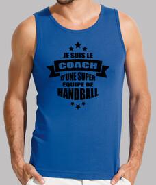 entrenador de un gran equipo de mano