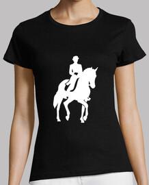 entrenamiento de caballos
