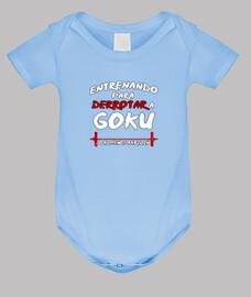 Entrenando Goku - Bebe