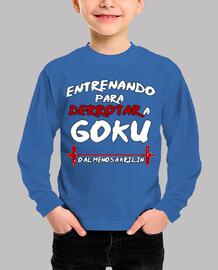 Entrenando Goku - Infantil