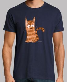 Entretenido y jovial gatito