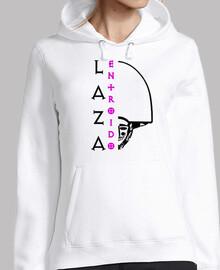 Entroido de laza (logo black - woman)