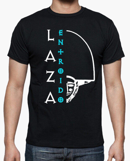 Camiseta Entroido de Laza (Logo Blanco - Hombre)
