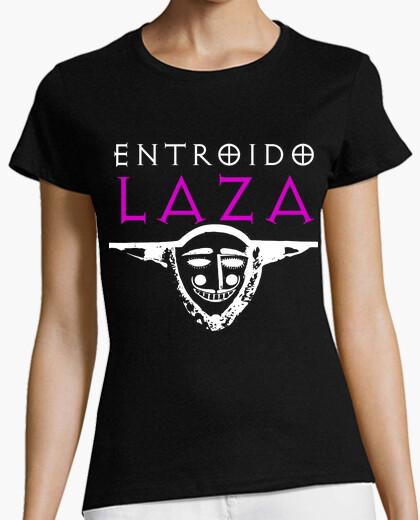 Camiseta Entroido de Laza (Logo Blanco - Mujer)