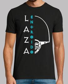 entroido laza (logo white - man)