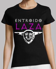 entroido laza (white logo - woman)