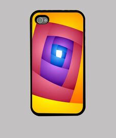 ENTRY Arte Abstracto Funda iPhone 4