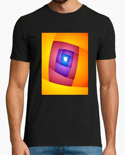 Camiseta ENTRY Arte Abstracto Hombre, manga corta, negra