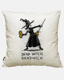 envoyer sandwich sorcière