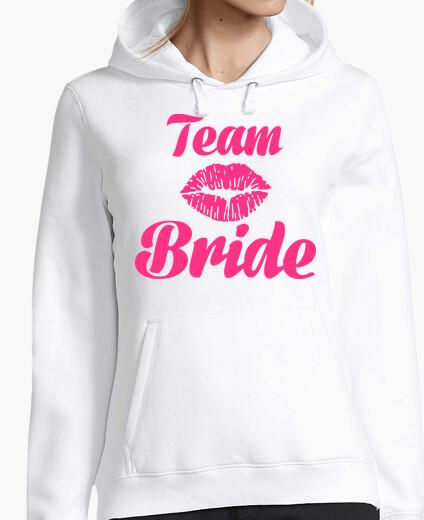 Sweat équipe baiser