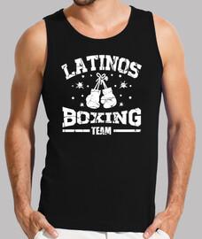 équipe de boxe latino