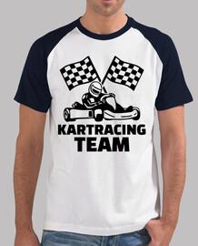 équipe de course kart