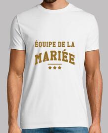 Equipe de la mariée / Mariage