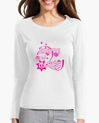 Tee-shirt Equipe de la mariée / Mariage