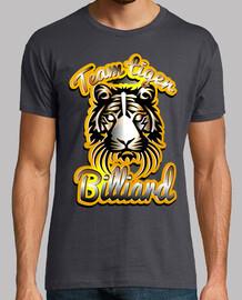 équipe de tigre billard