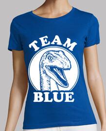 équipe velociraptor bleu