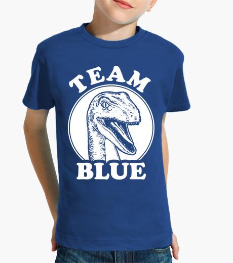 Vêtements enfant équipe velociraptor bleu