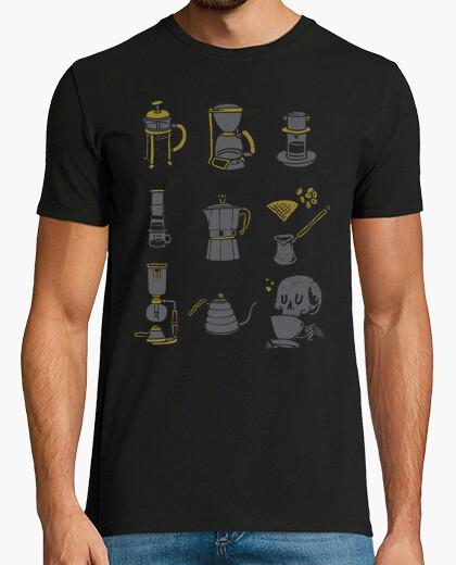 Tee-shirt équipement de café