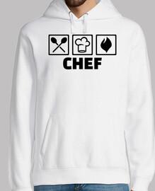 équipement de cuisine chef chapeau
