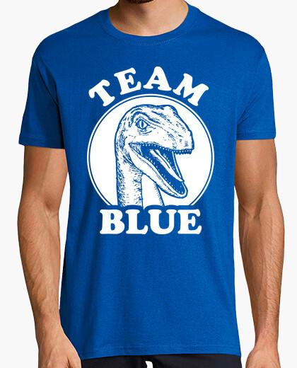 Camiseta equipo azul velociraptor