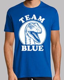 equipo azul velociraptor