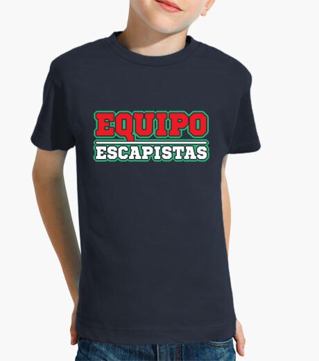 Ropa infantil Equipo Escapistas Camiseta para niño