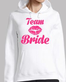 equipo novia beso