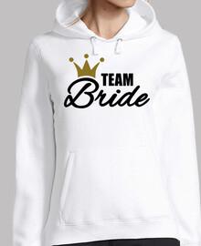 equipo novia corona