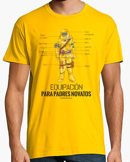 Camiseta Equipo para padres novatos