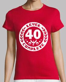 Equipo rojo nivel 40