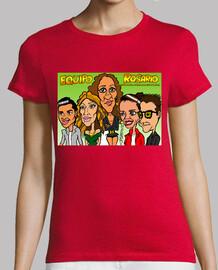 Equipo Rosario de la Voz caricaturas