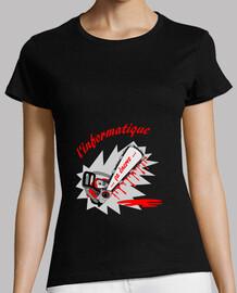 equipo t camisa de la mujer enerve fs