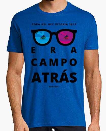 Camiseta ERA CAMPO ATRÁS verde chico