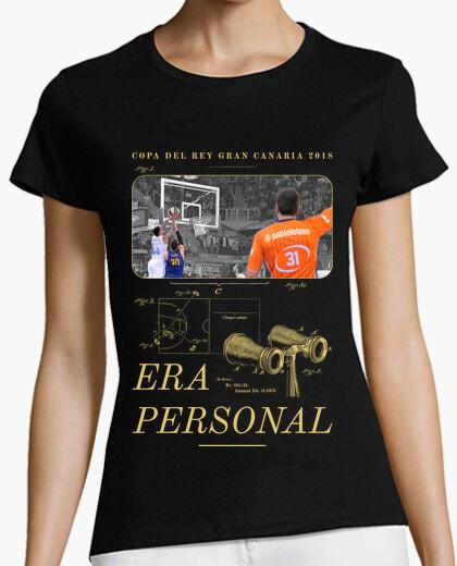 Camiseta Era personal (dorado)