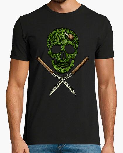 T-shirt erba del cranio