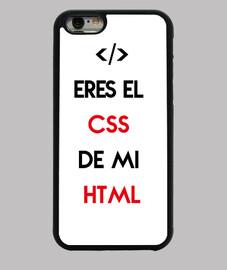 Eres el css de mi html funda iphone
