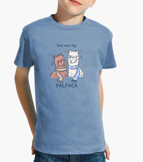 Ropa infantil eres mi palpaca - camisa de niños