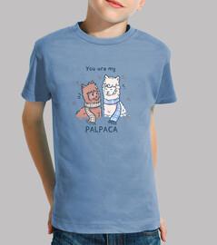eres mi palpaca - camisa de niños